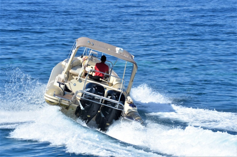 Hire RIB with or without skipper Orizon Gaios