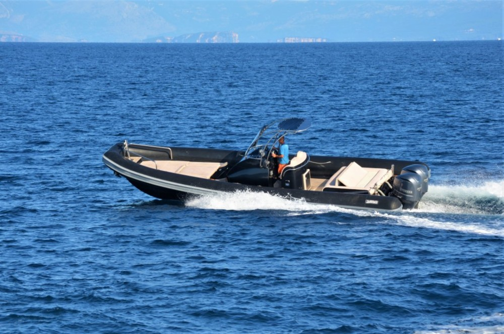 Rental RIB Sea Water with a permit