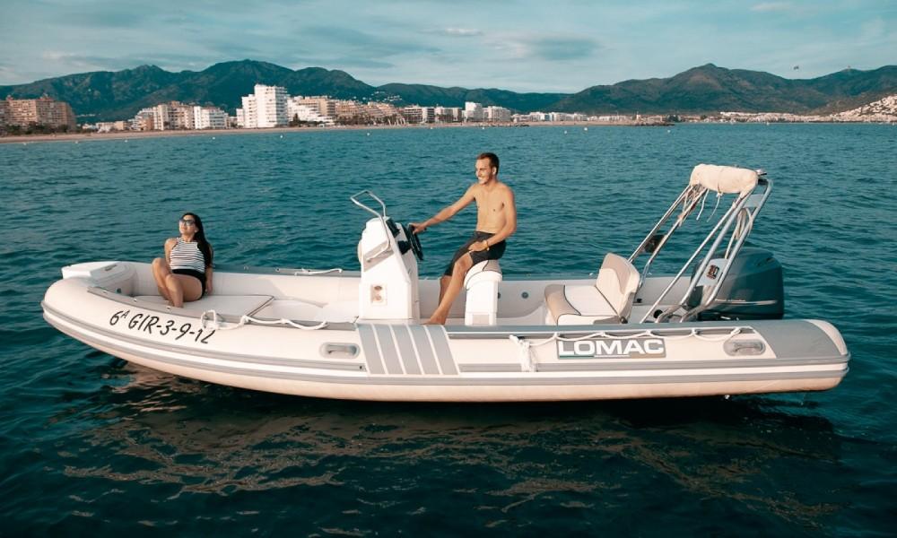 Boat rental Roses cheap Lomac 600 IN