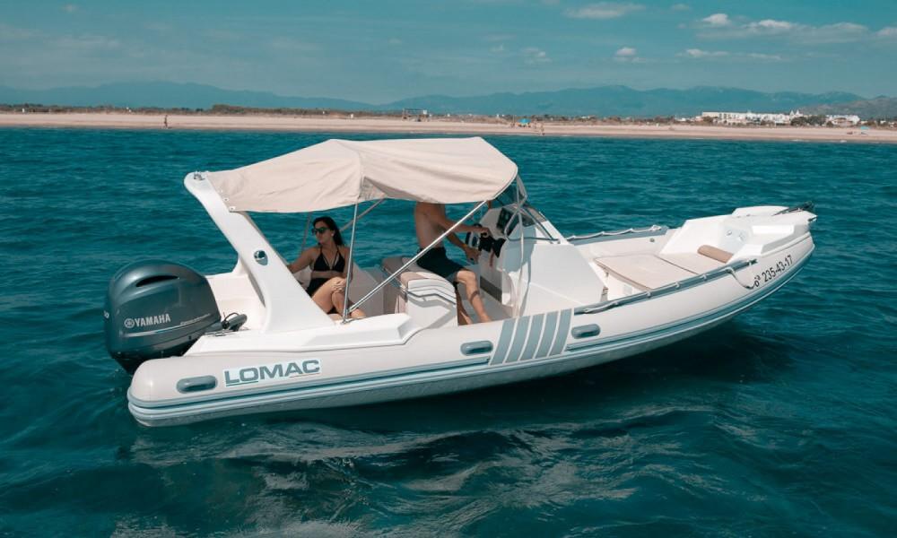 Rental yacht Roses - Lomac 700 IN on SamBoat