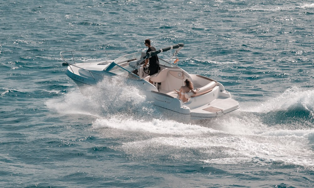Boat rental Roses cheap Leader 705