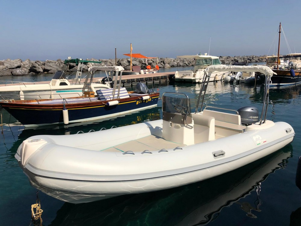 Hire RIB with or without skipper Selva Sant'Agnello