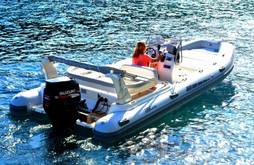 Hire RIB with or without skipper Bsc Gaios