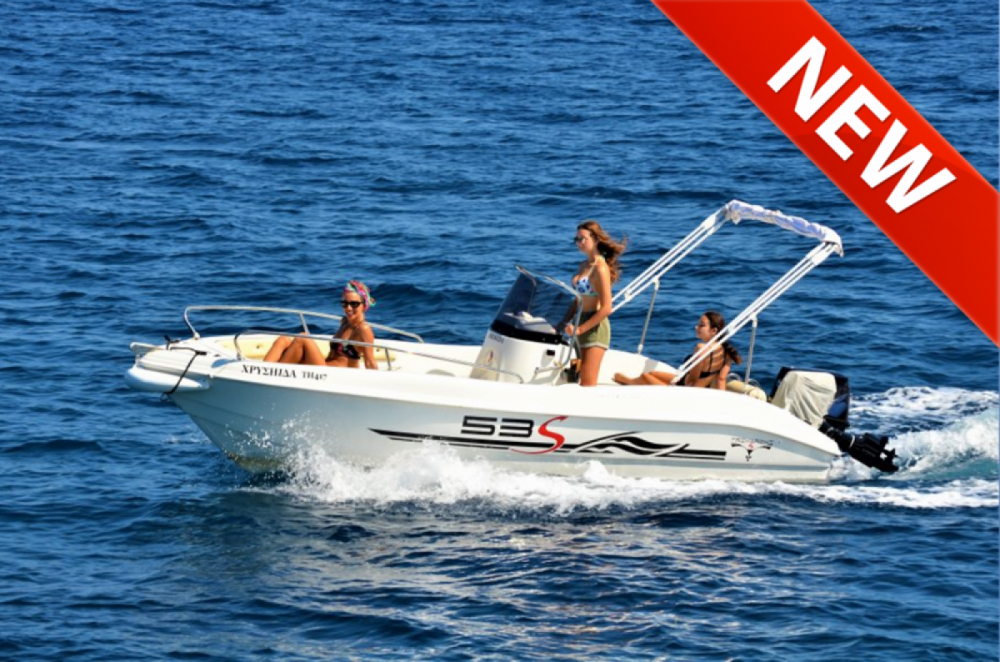 Hire Motorboat with or without skipper TRIMARCHI Gaios