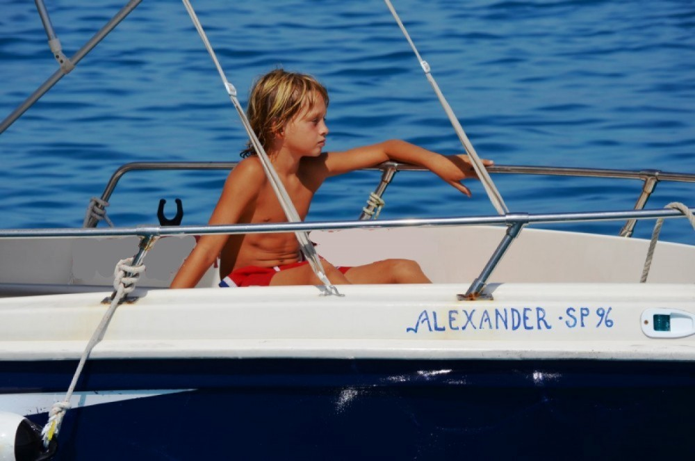 Rental Motor boat Yachting Club with a permit