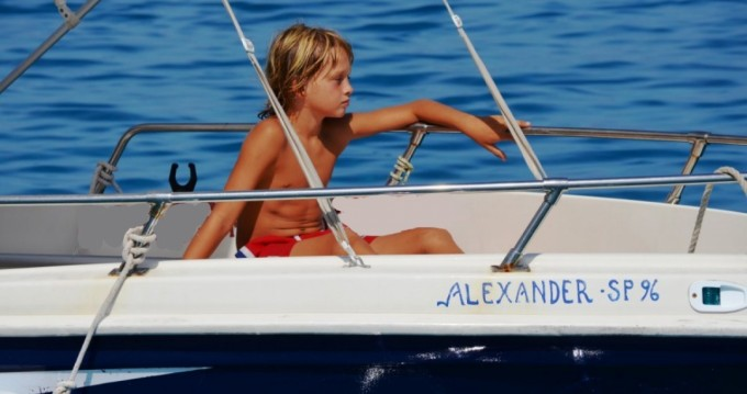 Rental Motorboat Yachting Club with a permit