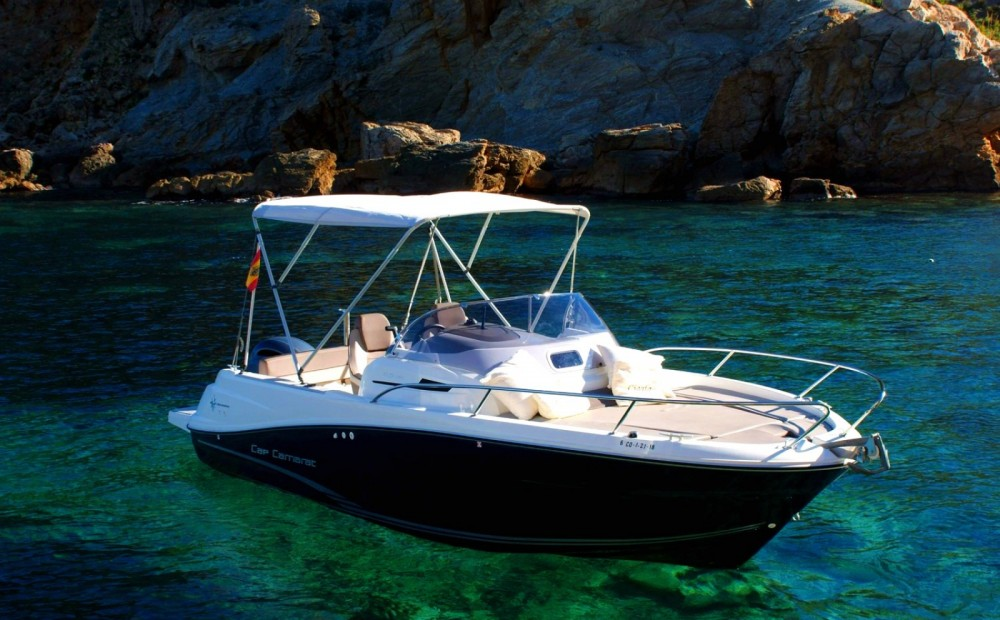 Hire Motorboat with or without skipper Jeanneau Roses