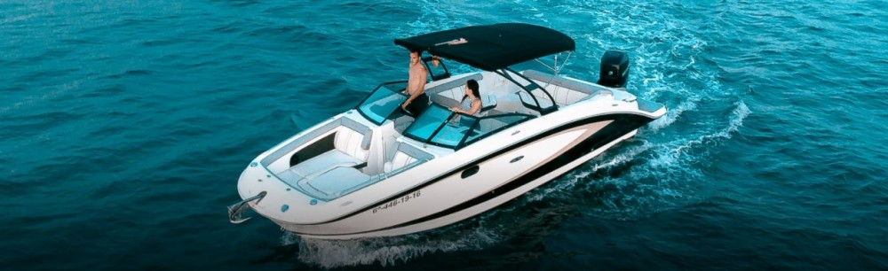 Hire Motorboat with or without skipper Sea Ray Roses