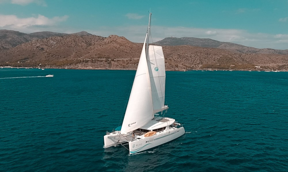 Hire Catamaran with or without skipper Lagoon Roses