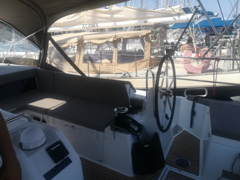 Jeanneau Sun Odyssey 490 between personal and professional Lefkada
