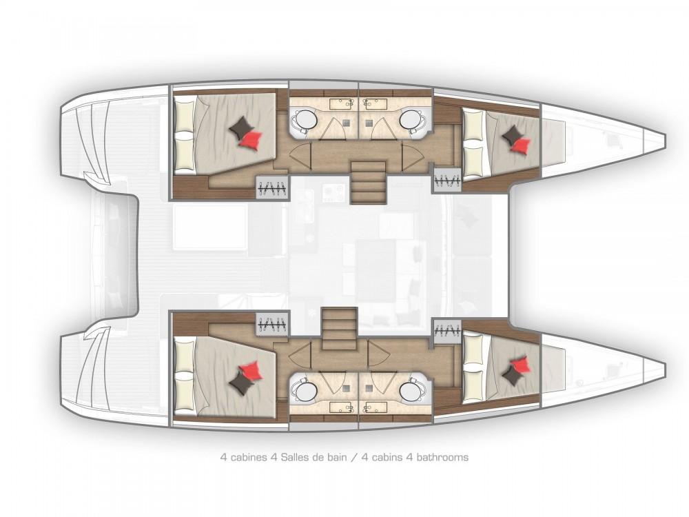 Rental yacht Lefkada - Lagoon Lagoon 40 on SamBoat