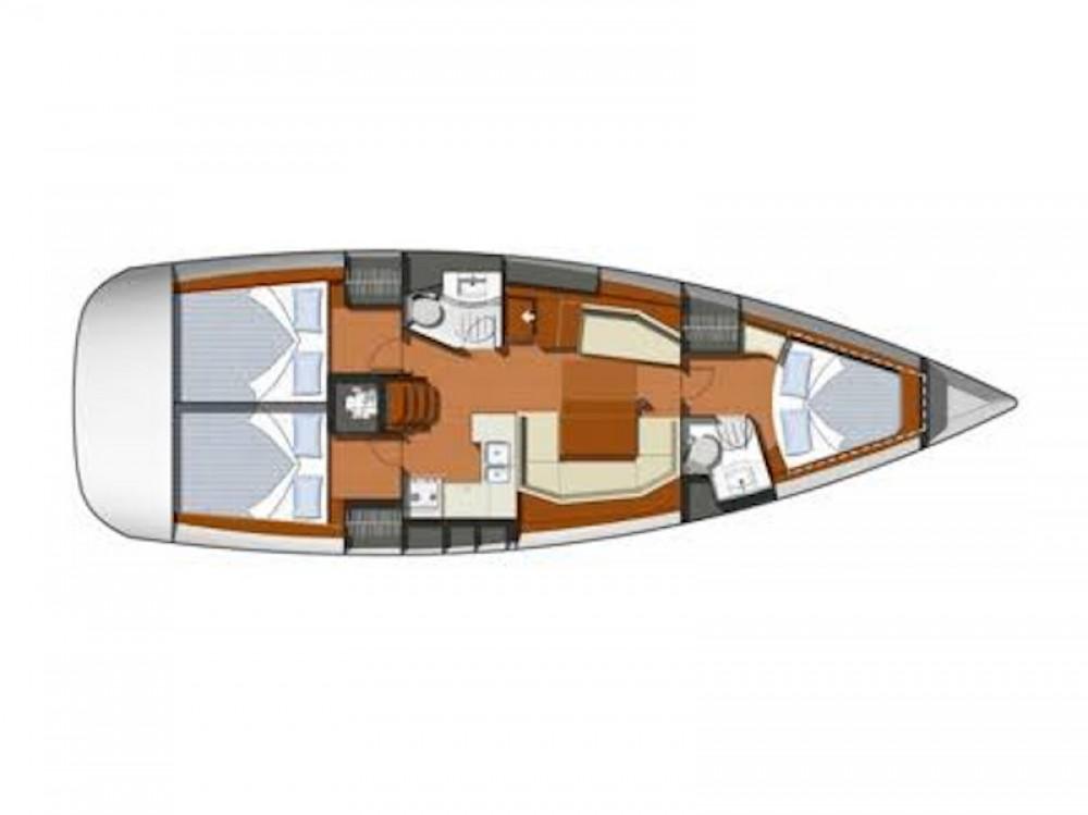 Rental Sailboat in Laurium - Jeanneau Sun Odyssey 42i