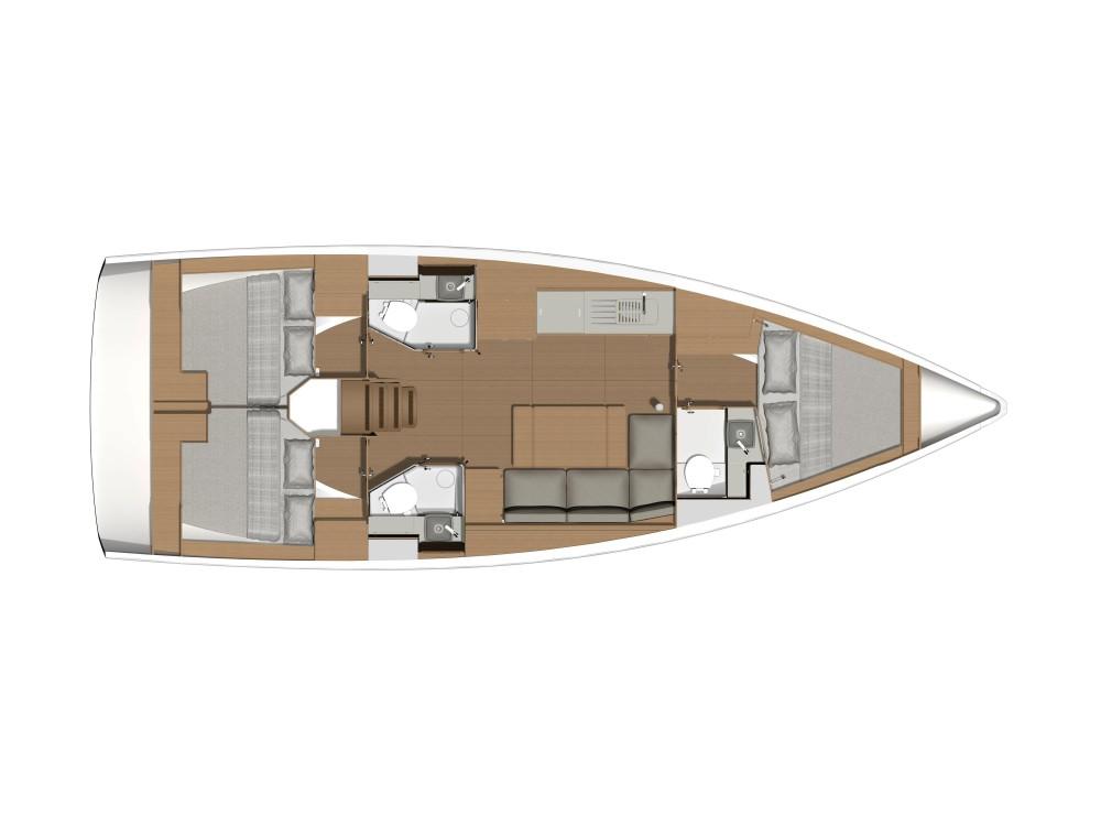 Rental yacht Álimos - Dufour Dufour 390 Grand Large on SamBoat