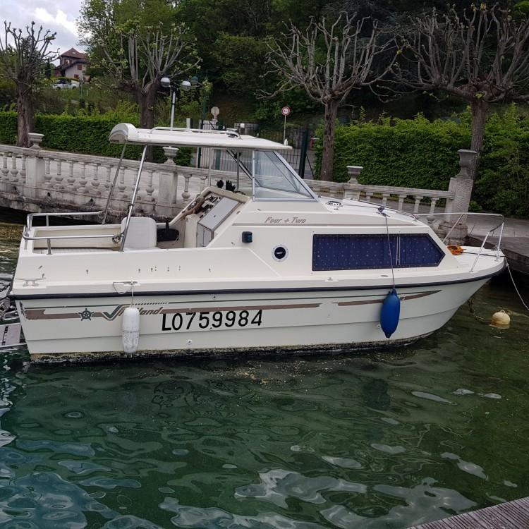 Rental Motor boat in Duingt - Shetland 4 + 2