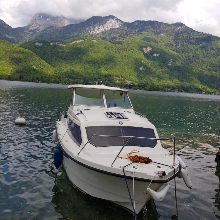 Boat rental Duingt cheap 4 + 2
