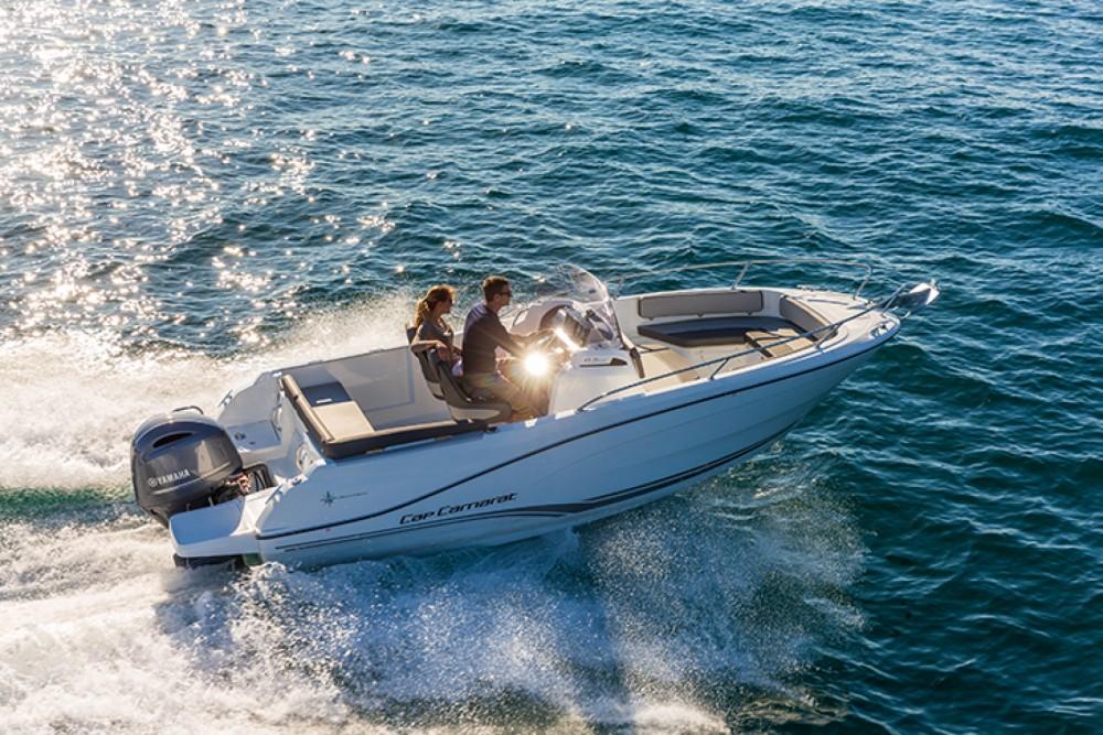 Rental Motorboat in Vallauris - Jeanneau Cap Camarat 6.5 CC