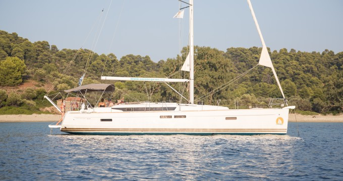 Jeanneau Sun Odyssey 469 between personal and professional Volos