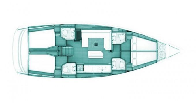 Rental yacht Volos - Jeanneau Sun Odyssey 469 on SamBoat