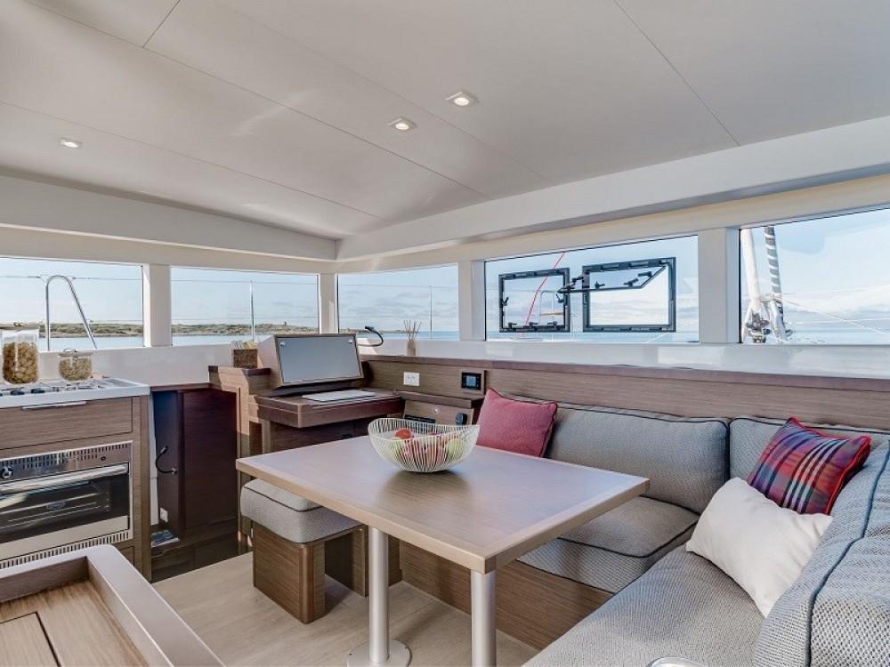 Boat rental US Virgin Islands cheap Lagoon 40