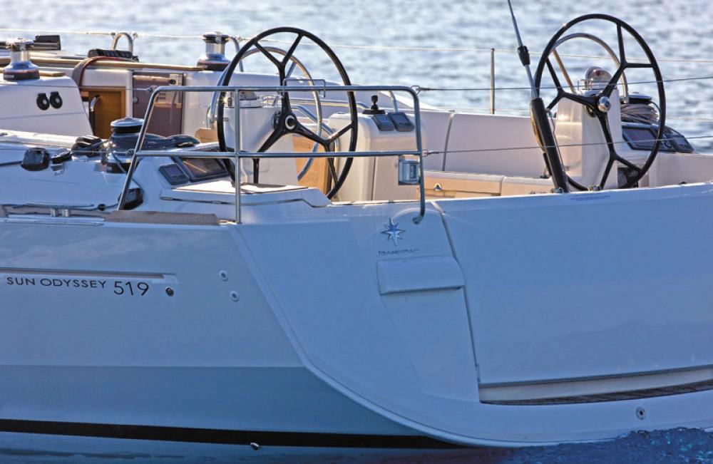 Boat rental Jeanneau Sun Odyssey 519 in US Virgin Islands on Samboat