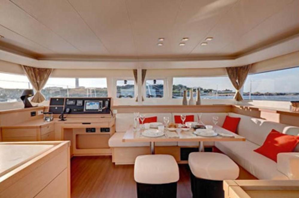 Boat rental US Virgin Islands cheap Lagoon 450