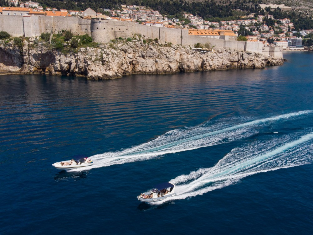 Hire RIB with or without skipper Zodiac Dubrovnik
