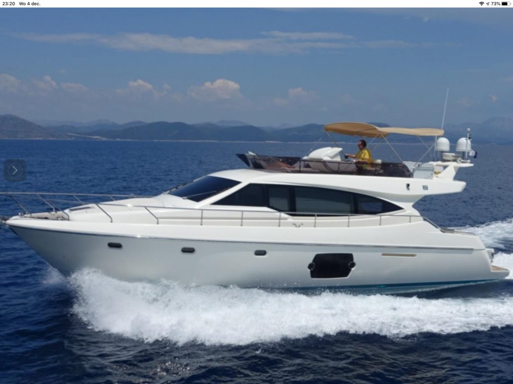 Boat rental Murter cheap Ferretti 510