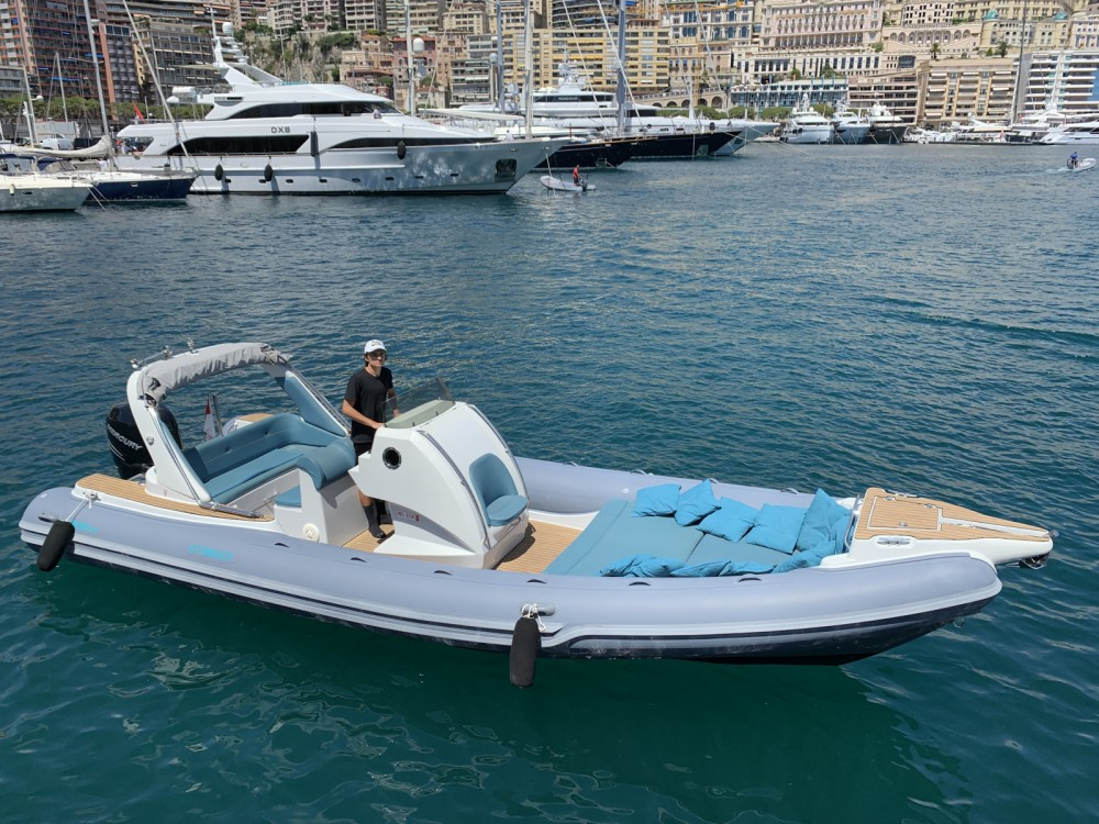 Italboats Stingher 800 GT between personal and professional Monaco