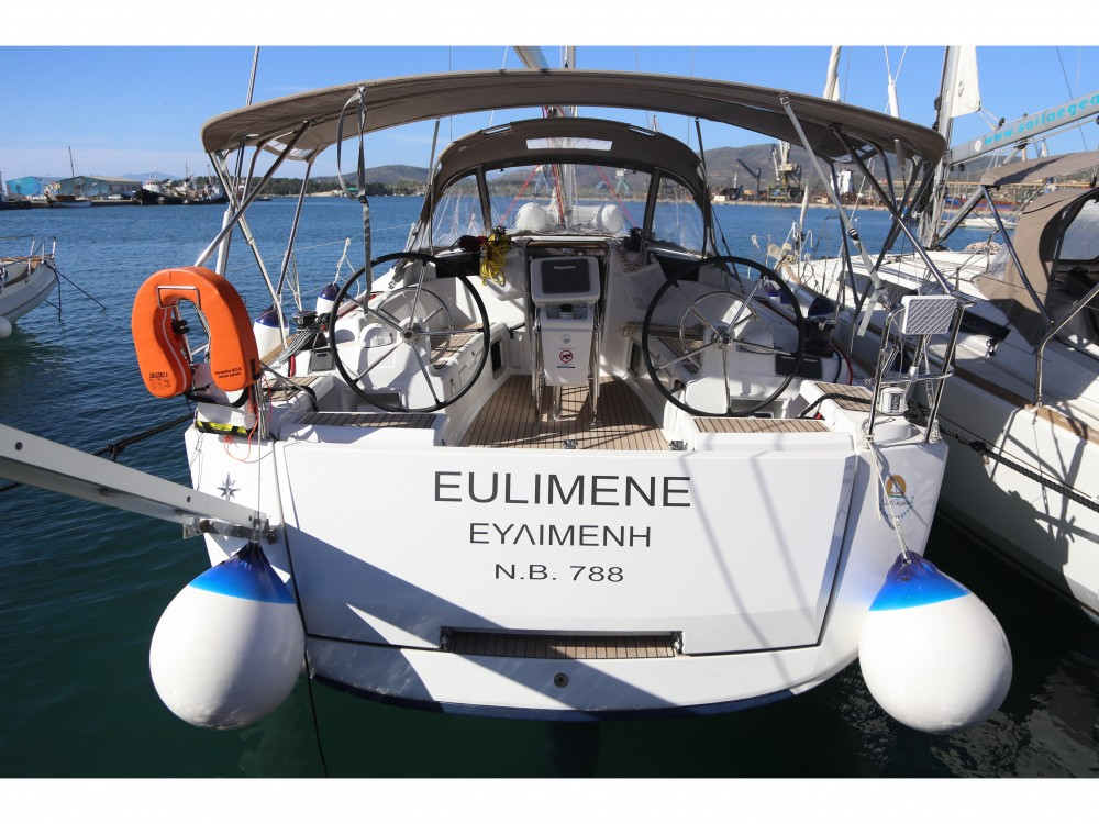 Jeanneau Sun Odyssey 419 between personal and professional Volos Municipality