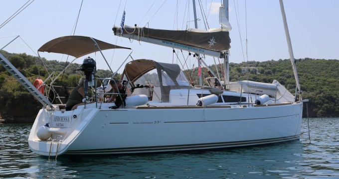 Sailboat for rent Skopelos Town at the best price