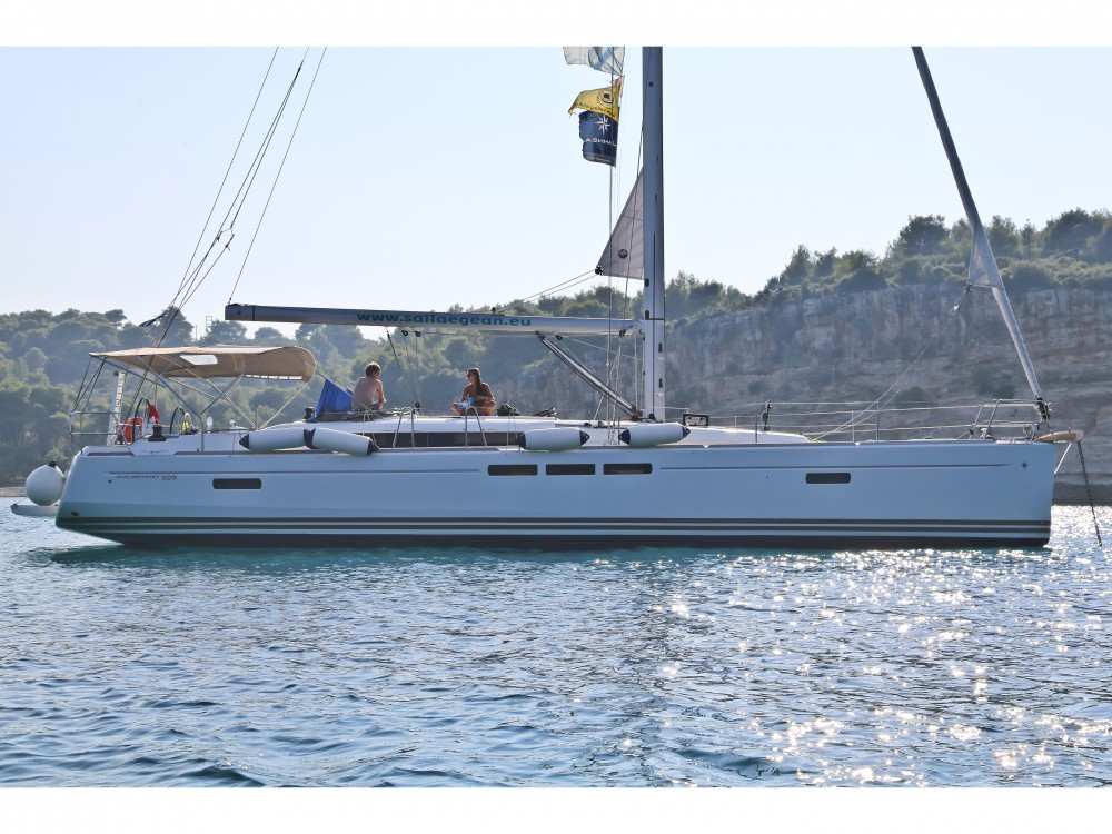 Jeanneau Sun Odyssey 509 between personal and professional Volos Municipality