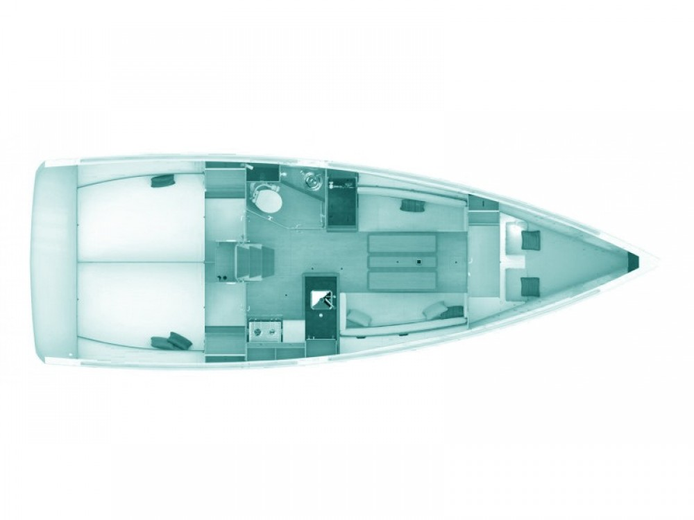 Boat rental Skópelos cheap Sun Odyssey 349