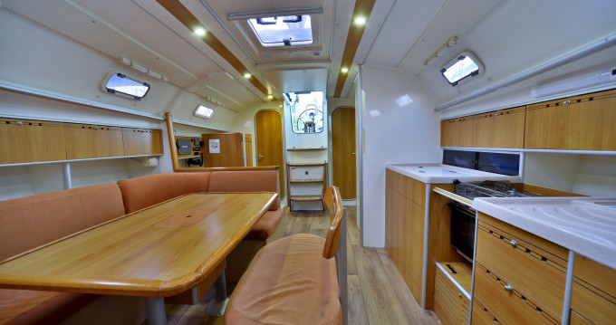 Hire Sailboat with or without skipper Poncin Yachts Alimos
