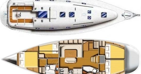 Rental yacht Alimos - Poncin Yachts Harmony 47 on SamBoat