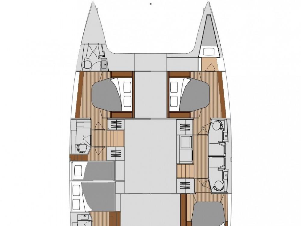 Hire Catamaran with or without skipper Fountaine Pajot Castiglioncello