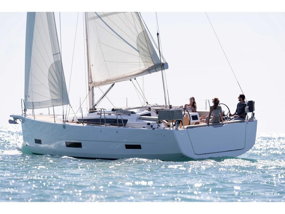 Rental Sailboat in  - Dufour Dufour 390 Grand Large