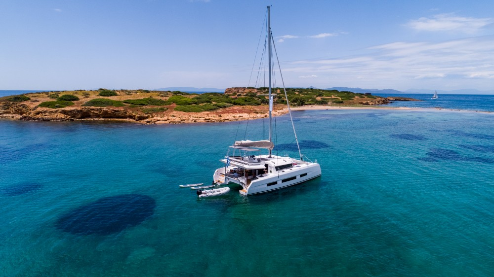 Hire Catamaran with or without skipper Dufour Grèce