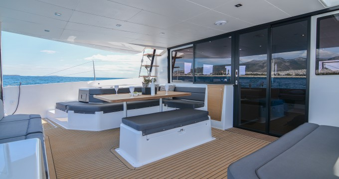 Catamaran for rent Parikia at the best price