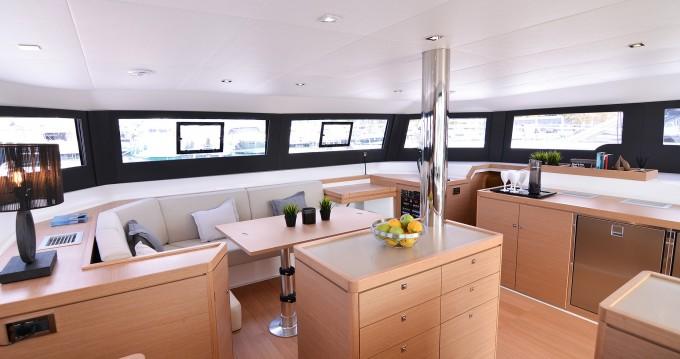 Boat rental Páros cheap Dufour 48 Catamaran