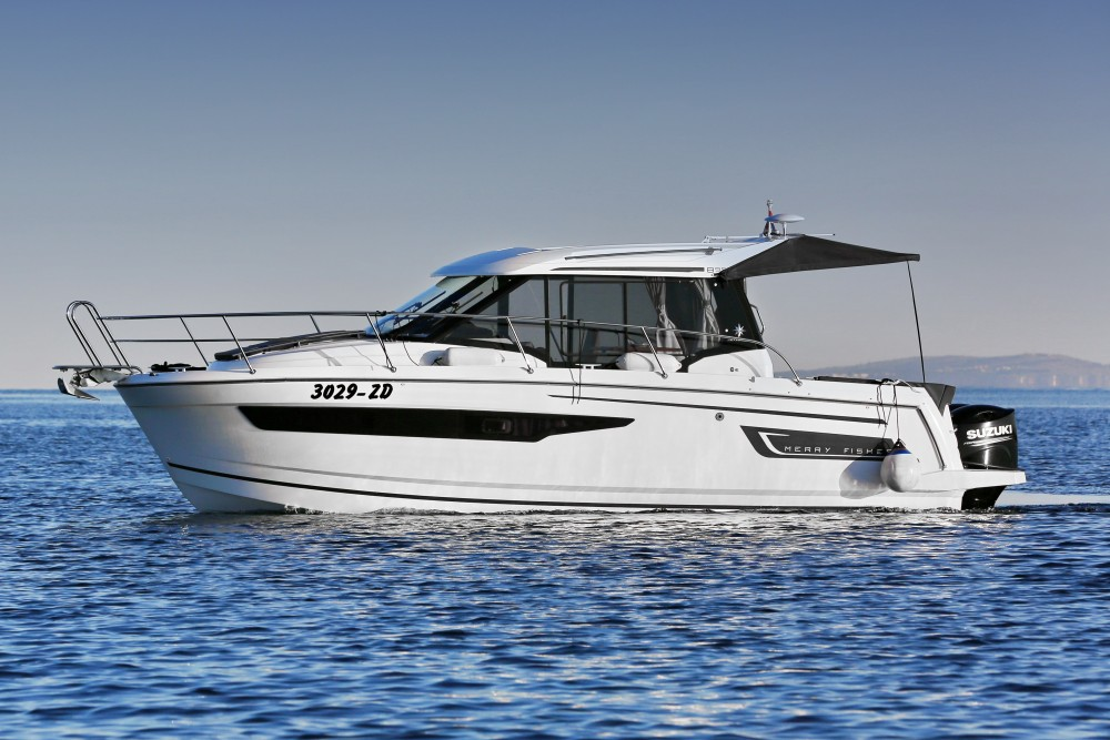 Jeanneau Merry Fisher 895 between personal and professional Zadar