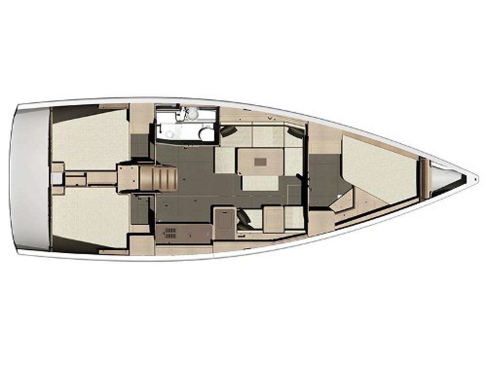 Rental Sailboat in Pula - Dufour Dufour 410 (3c-1h)