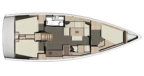 Boat rental Veruda cheap Dufour 410 (3c-1h)