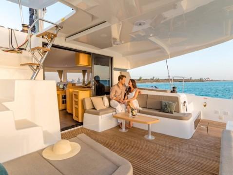 Hire Catamaran with or without skipper Lagoon Playa Sardinera