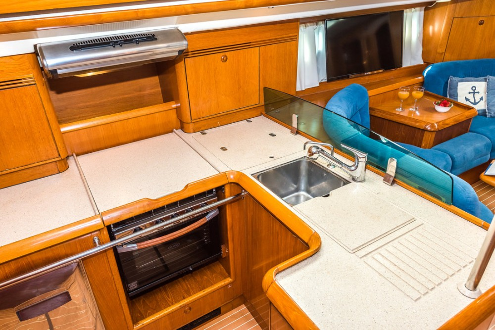 Rental Sailboat in Pirovac - Jeanneau Sun Odyssey 54 DS - 4 + 1 cab.