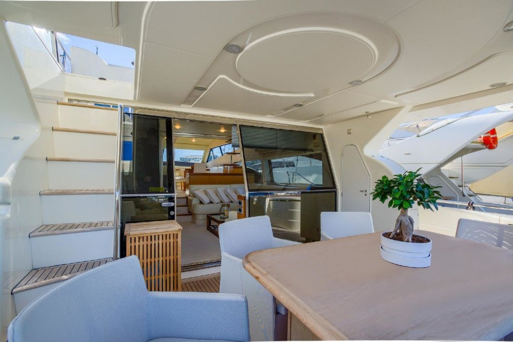 Rental Motorboat Ferretti-Yachts-Group with a permit