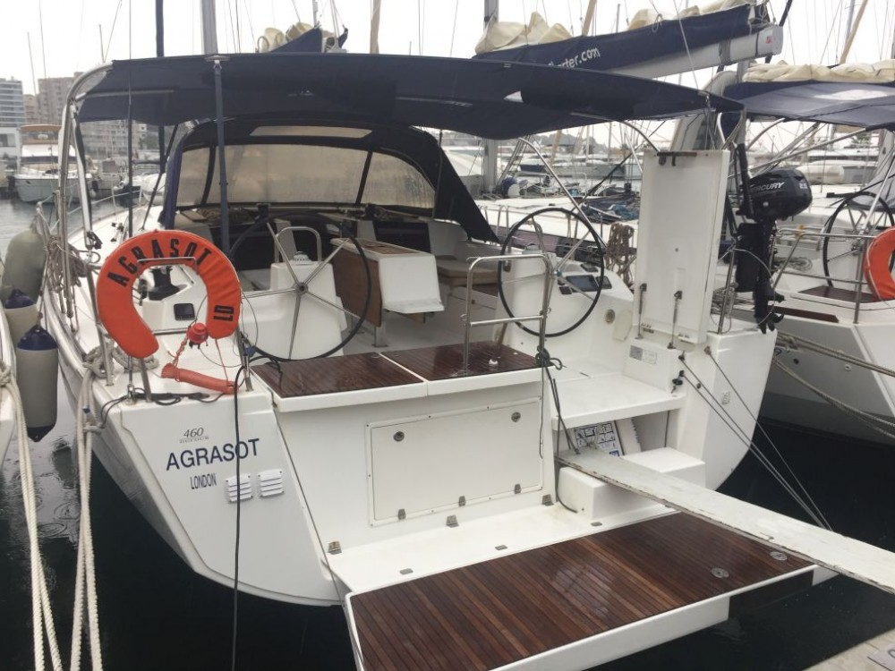 Hire Sailboat with or without skipper Dufour Marseille