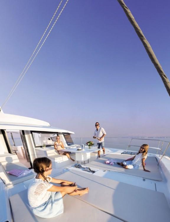 Bali Catamarans Bali 5.4 between personal and professional Olbia