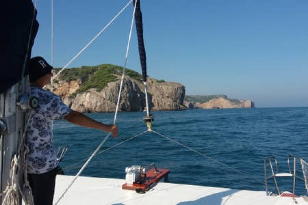 Catamaran for rent l'Escala at the best price