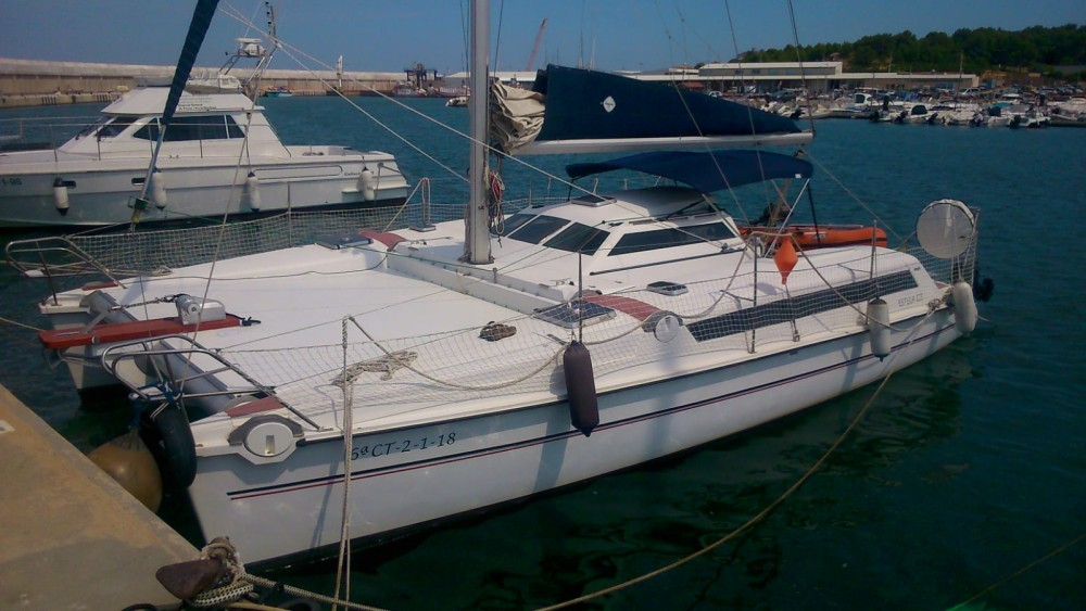 Hire Catamaran with or without skipper Pradere & Fills l'Escala