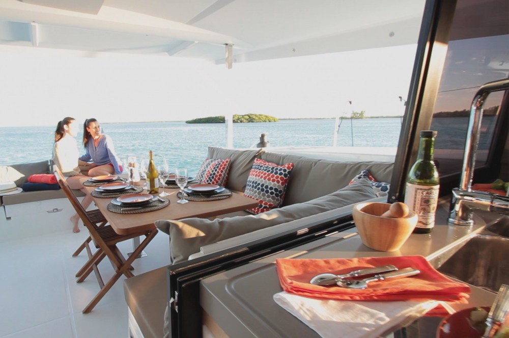 Boat rental Fountaine Pajot Lucia 40 owner version in Kaštel Gomilica on Samboat